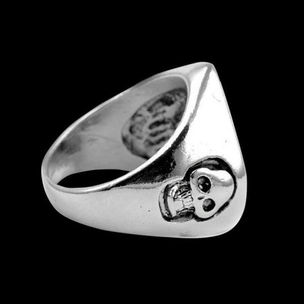 Bague 13 Bikers Skull (Acier)