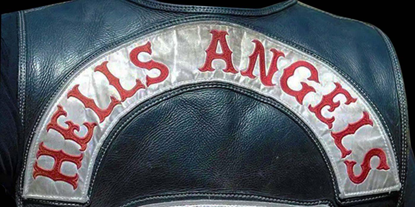 Veste en Cuir Hells Angels