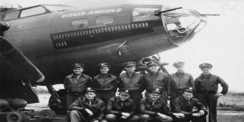 Bombardier Hells Angels (2nde Guerre Mondiale)