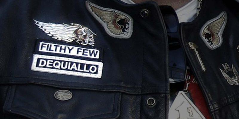 Insigne Dequiallo et Filtht Few (Hells Angels)