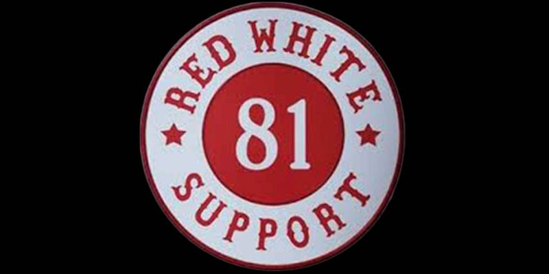 Logo Hells Angels (Red White-Support 81)